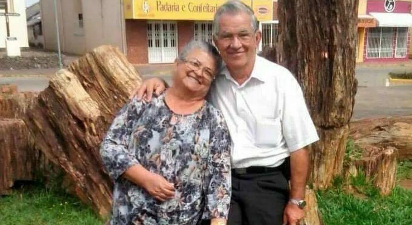 Manoel e Noeli morreram com 24 horas de diferença com complicações da Covid-19.