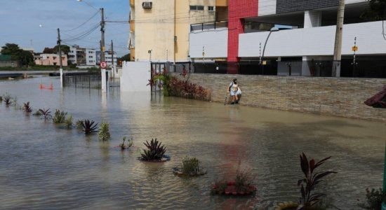 Olinda é a cidade que mais choveu na Região Metropolitana