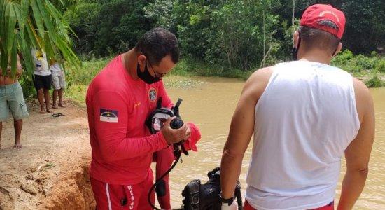 Bombeiros encontram corpo de adolescente que havia desaparecido em barragem em Igarassu