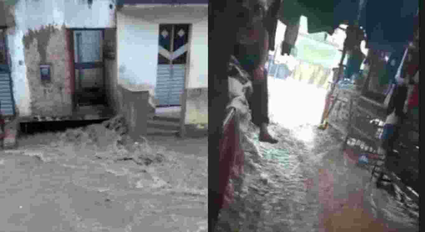 Chuvas em Toritama, no Agreste
