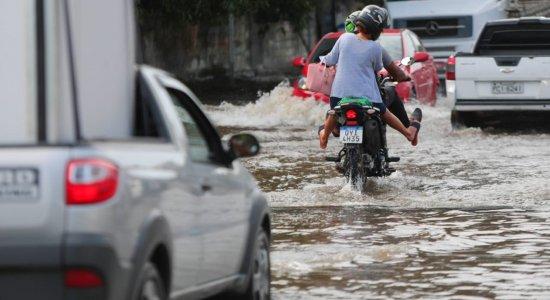 Apac renova alerta de chuvas para o Grande Recife e outras regiões de Pernambuco