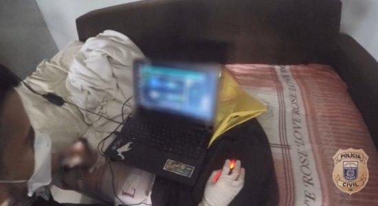 Homem é preso por armazenar imagens de pedofilia em Paulista