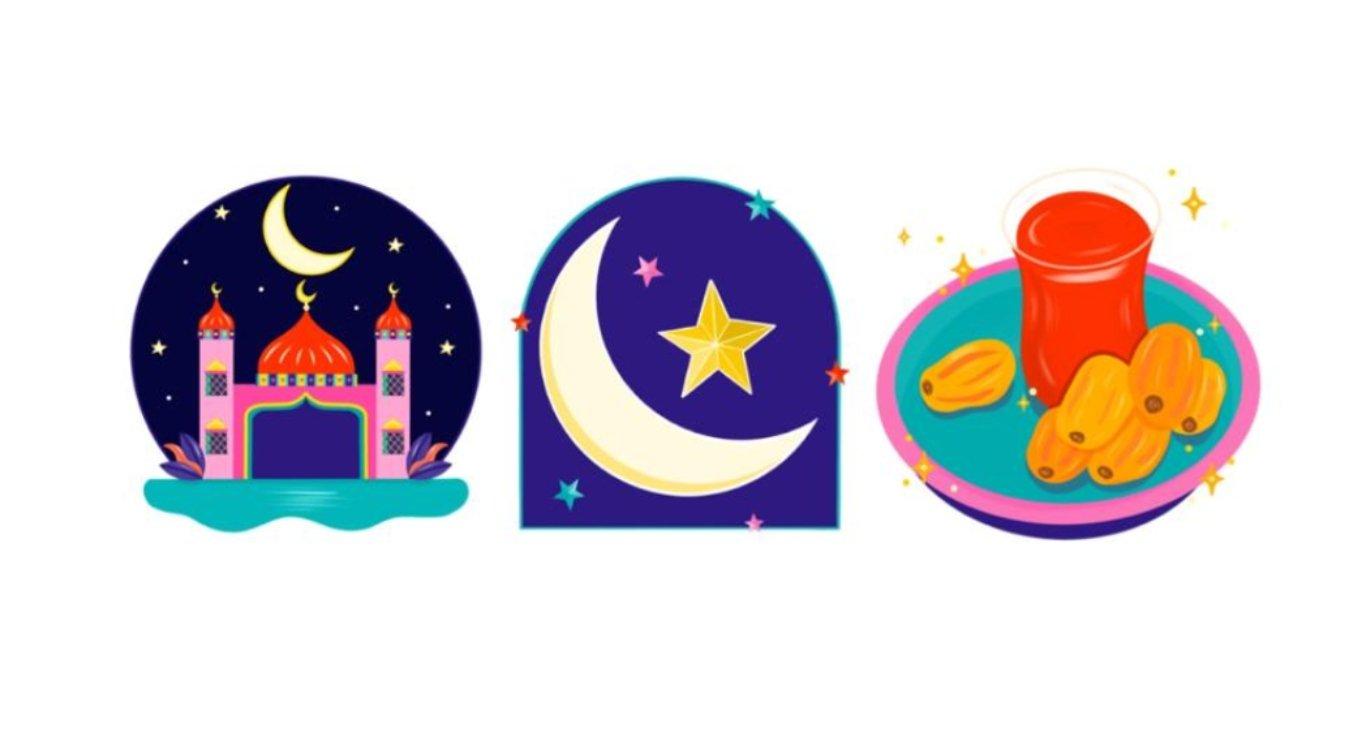 Instagram lançou pacote de sticker sobre o Ramadã