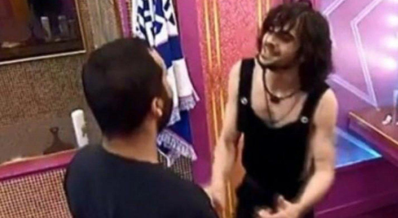 Fiuk beija Gilberto