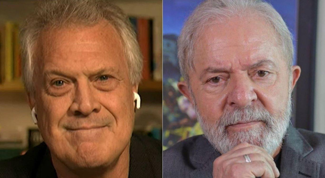 Pedro Bial falou sobre entrevistar o ex-presidente Lula