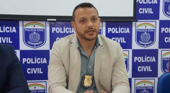 O delegado Anderson Liberato, de 32 anos, foi baleado em Jataúba
