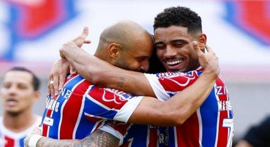 Bahia goleia o CRB e avança às semifinais da Copa do Nordeste