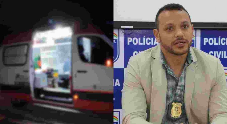 Suspeito de matar o delegado Anderson em Jataúba foi morto a tiros na ambulância