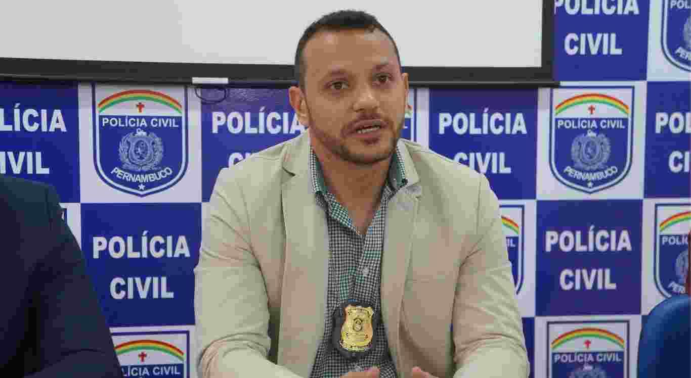 Delegado Anderson Liberato é baleado em Jataúba