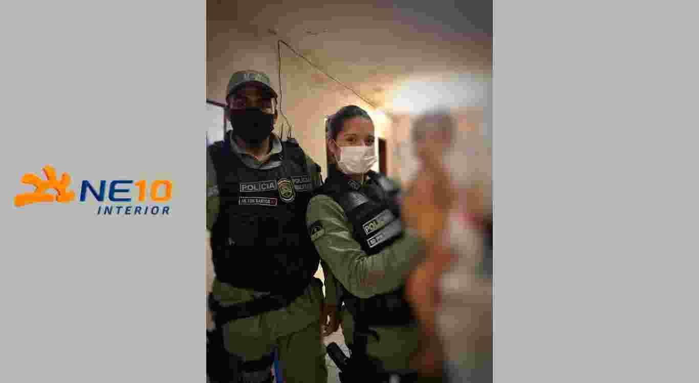 Policiais salvam criança em Caruaru