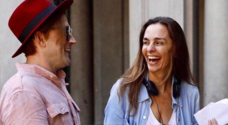 Paulo Gustavo e Susana Garcia são amigos