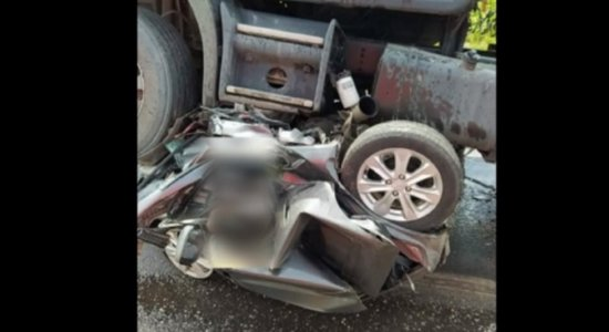 Carro fica parecendo bola de metal, após grave acidente no Pará; cinco pessoas morreram