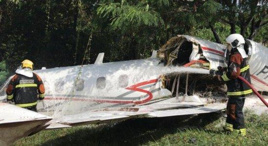 Piloto morre após aeronave sofrer acidente em Belo Horizonte