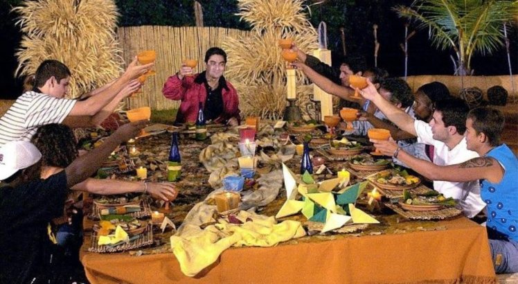Jantar no 'No Limite'