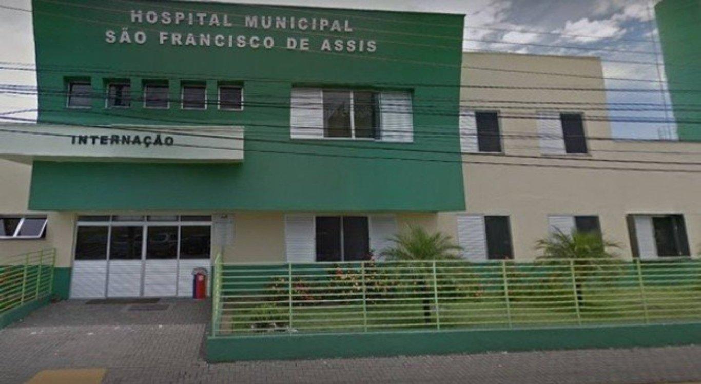 Criança foi levada para Hospital municipal São Francisco de Assis
