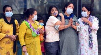 Índia bateu recorde de registro de casos de Covid-19