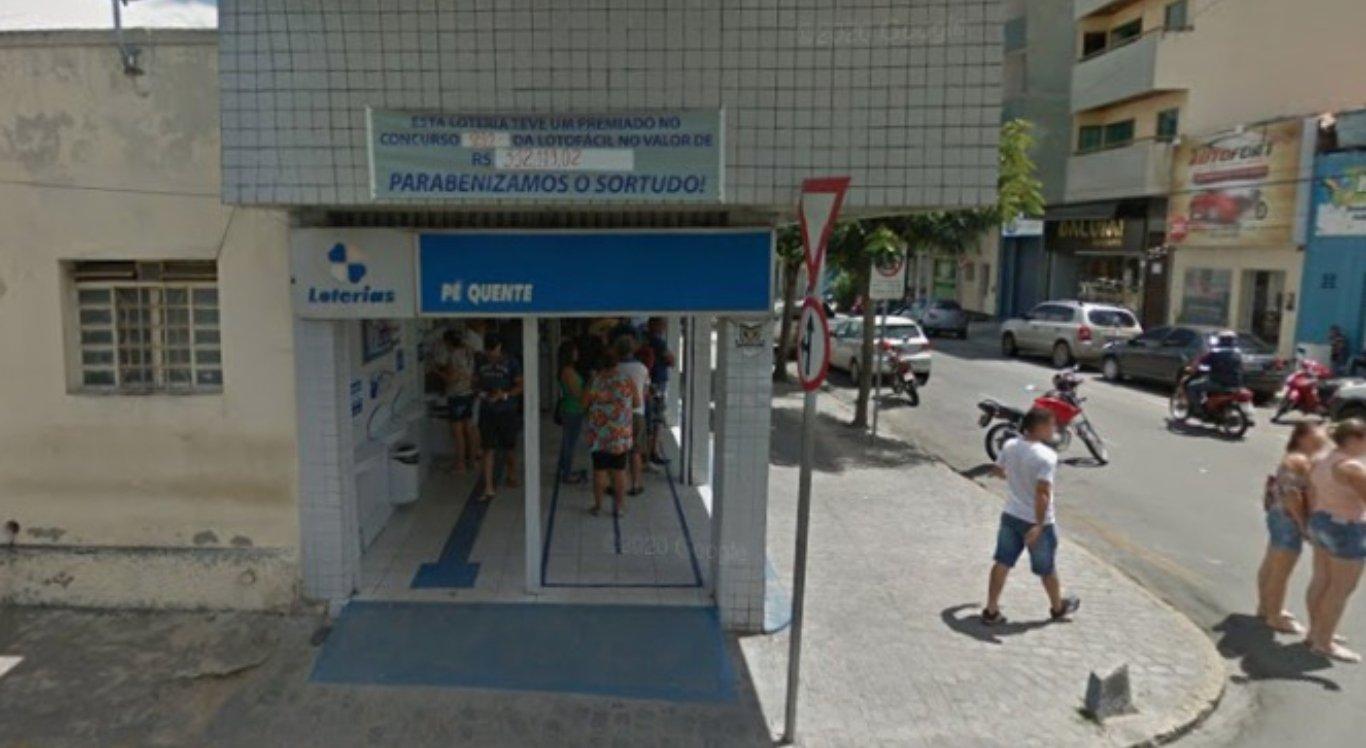 Loteria Pé Quente, em Caruaru