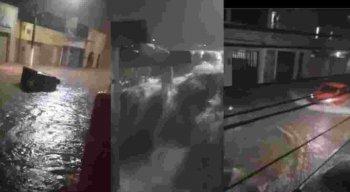 Chuvas em Garanhuns, no Agreste