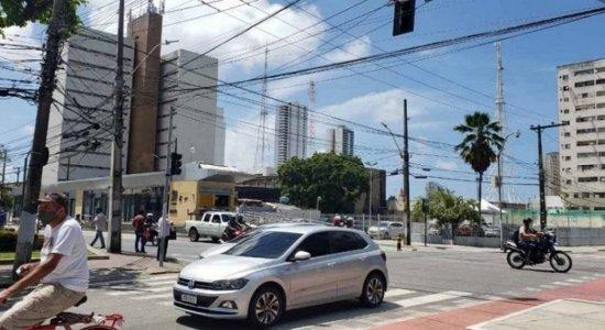 Bairros do Recife têm queda de energia na manhã desta quinta (22); semáforos ficam apagados