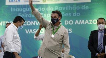 Presidente cumpriu agenda em Belém para entrega de cestas básicas