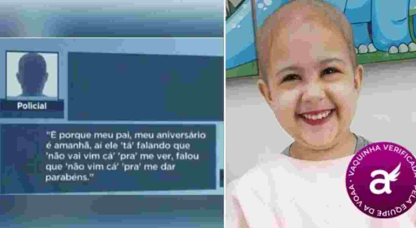 Filha de policial que ajudou menino com festa surpresa tem câncer e precisa de dinheiro para fazer tratamento