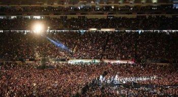 Mais de 50 mil pessoas participaram de show no final de semana, em Nova Zelândia