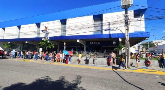 Agência da Caixa Econômica Federal na Rua Capitão João Velho