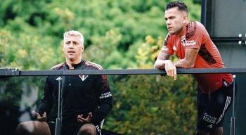 Daniel Alves voltou a ganhar protagonismo sob o comando de Hernán Crespo