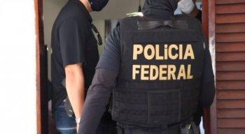 Polícia Federal cumpriu mandados de prisão e busca e apreensão