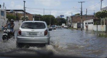 Choveu, segundo a Agência Pernambucana de Águas e Clima (Apac), 80% do esperado para o mês de abril inteiro em 72h.