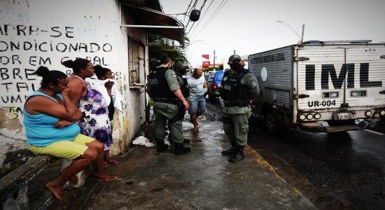 Dois irmãos são assassinados a tiros em Afogados, Zona Oeste do Recife