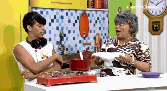 Receita de frango empanado no Cozinhando com a Vovó: pura fuleragem