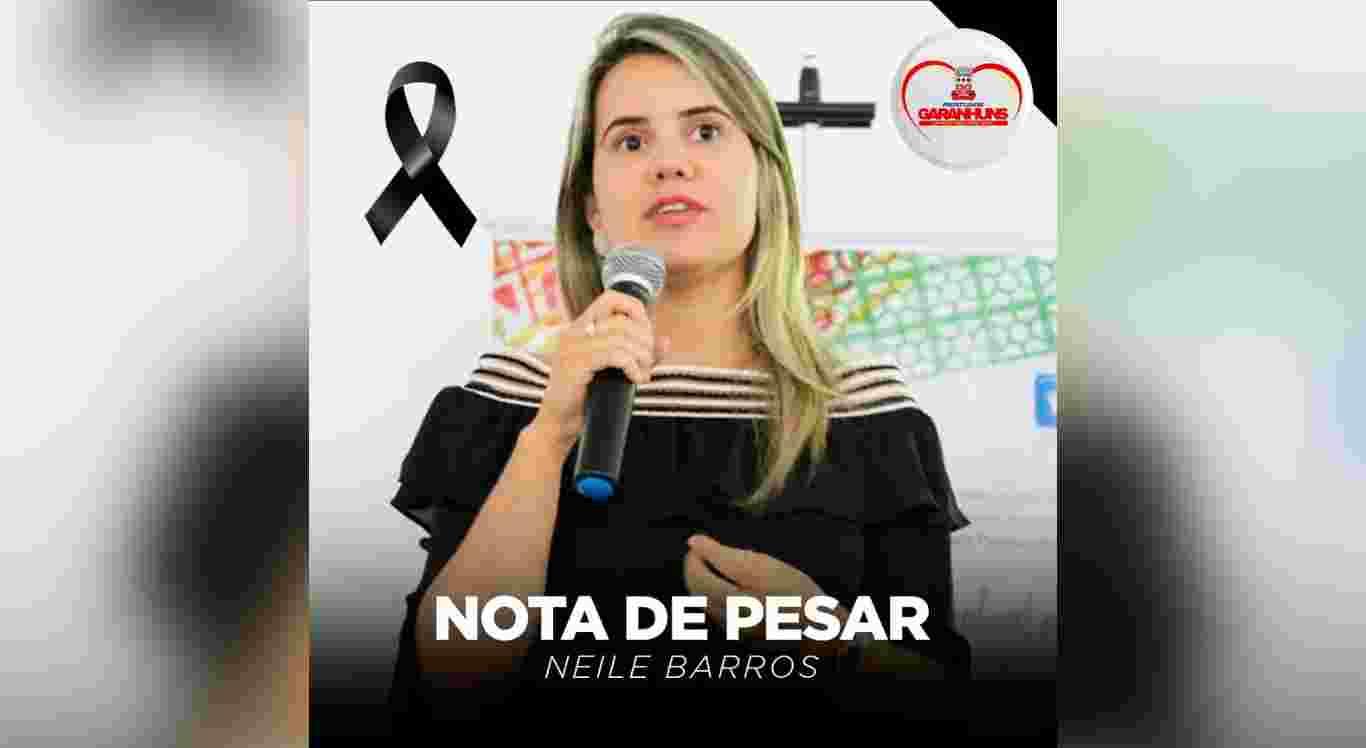 Morre de Covid-19 ex-secretária de Turismo de Garanhuns, Neile Barros