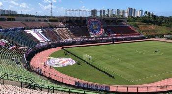 Bahia x Ceará se enfrentam no estádio de Pituaçu, em Salvador, pela primeira partida da final da Copa do Nordeste