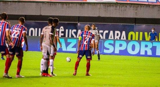 Com gol nos acréscimos, Ceará vence o Bahia e sai na frente na final da Copa do Nordeste