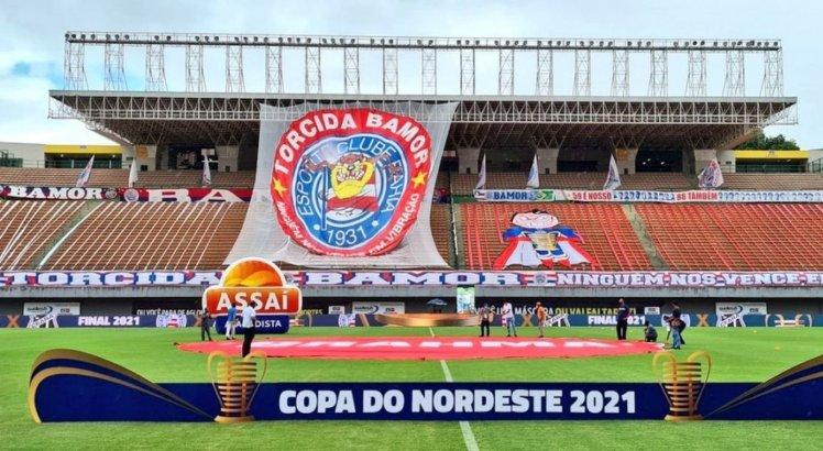 Com gols nos acréscimos, Ceará vence o Bahia e sai na frente na final da Copa do Nordeste