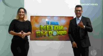 Anne de Campina do Barretto e Arnoldo Costa fazem a resenha no TV Jornal Mei Dia em Ponto