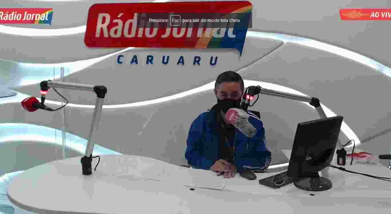 Reprodução/Rádio Jornal Caruaru