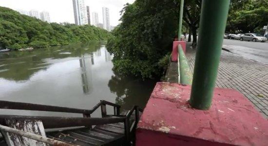 Descaso no Cais da Jaqueira, na Zona Norte do Recife, oferece riscos à população