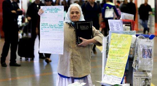 Morre Isaura, missionária pernambucana que ''morou'' nos aeroportos pelo Brasil