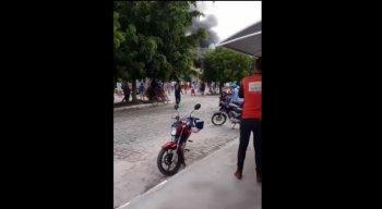 Explosão aconteceu na manhã desta sexta-feira, em Lajedo