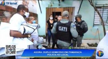 Criminosos invadem três casas, matam casal e reviram imóvel na Ilha de Itamaracá