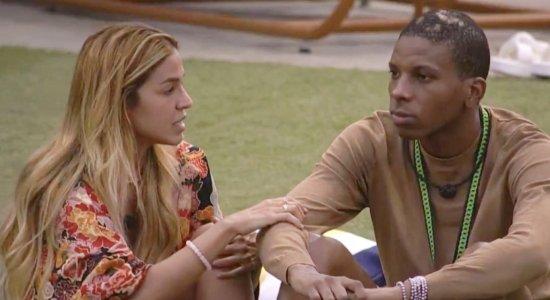 Kerline e Lucas teriam se encontrado em hotel após o BBB21