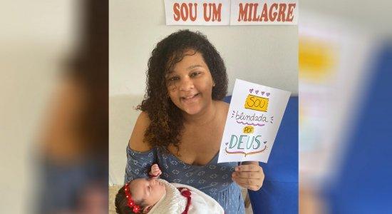 Após vencer a Covid-19, Tâmara Lima vai passar o primeiro Dia das Mães com a filha caçula
