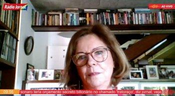Eliane Cantanhêde em coluna do Passando a Limpo, da Rádio Jornal