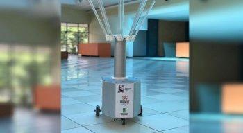 Ele é usado para desinfetar ambientes e eliminar micro-organismos