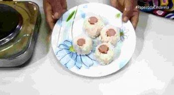 Sushicha da Vovó, receita alternativa do Festival de Salsicha no Cozinhando com a Vovó