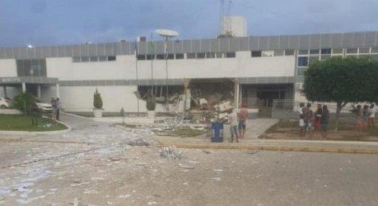 Criminosos explodem agência da Caixa Econômica em Betânia