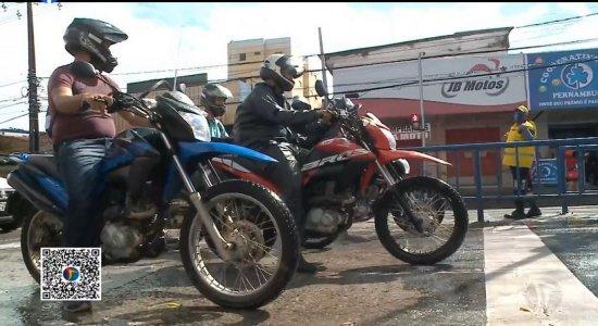 Motobox: áreas exclusivas para motociclistas são implantadas no Recife