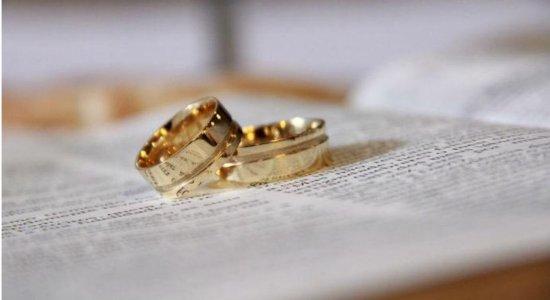 Inscrições abertas para casamentos coletivos virtuais em Pernambuco